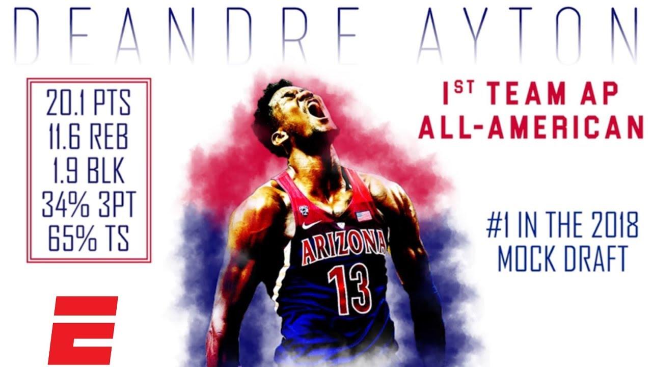 sale retailer 601dd 02363 Phoenix Suns make Deandre Ayton first-overall pick - AXS