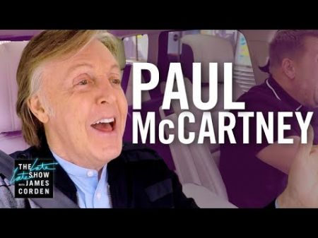 Watch: James Corden gets by with a little help from his friend Paul McCartney on 'Carpool Karaoke'