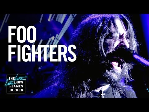 Watch: Foo Fighters perform 'Best of You' on 'The Late Late Show with James Corden'