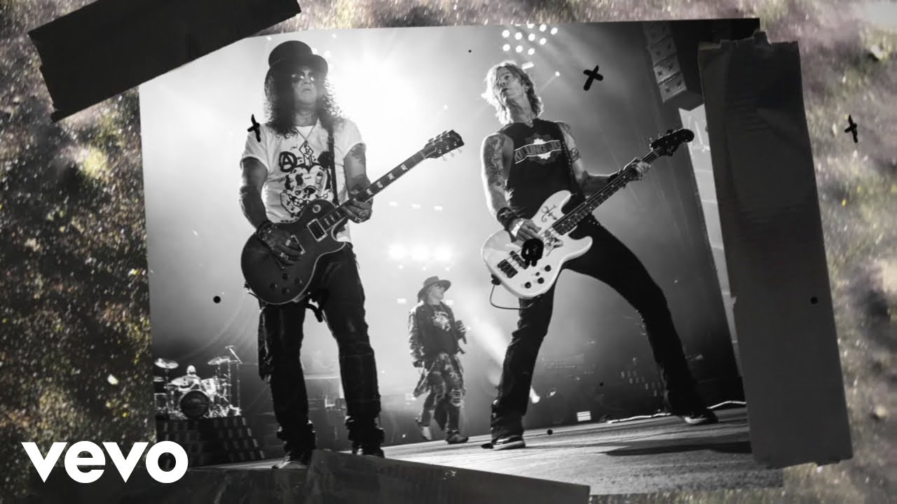 Watch: Guns N' Roses premiere lyric video for single 'Shadow of Your Love'