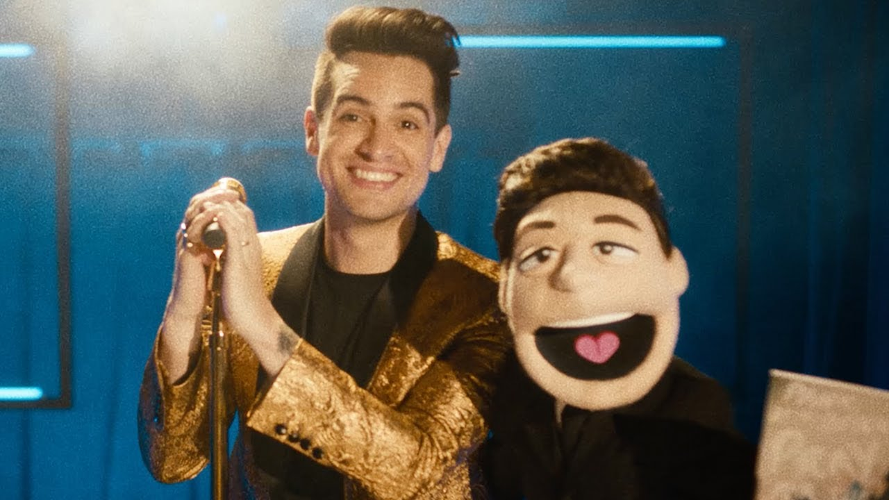Watch Panic! At The Disco's Brendon Urie transform into a Muppet in the video for 'Hey Look Ma, I Made It'