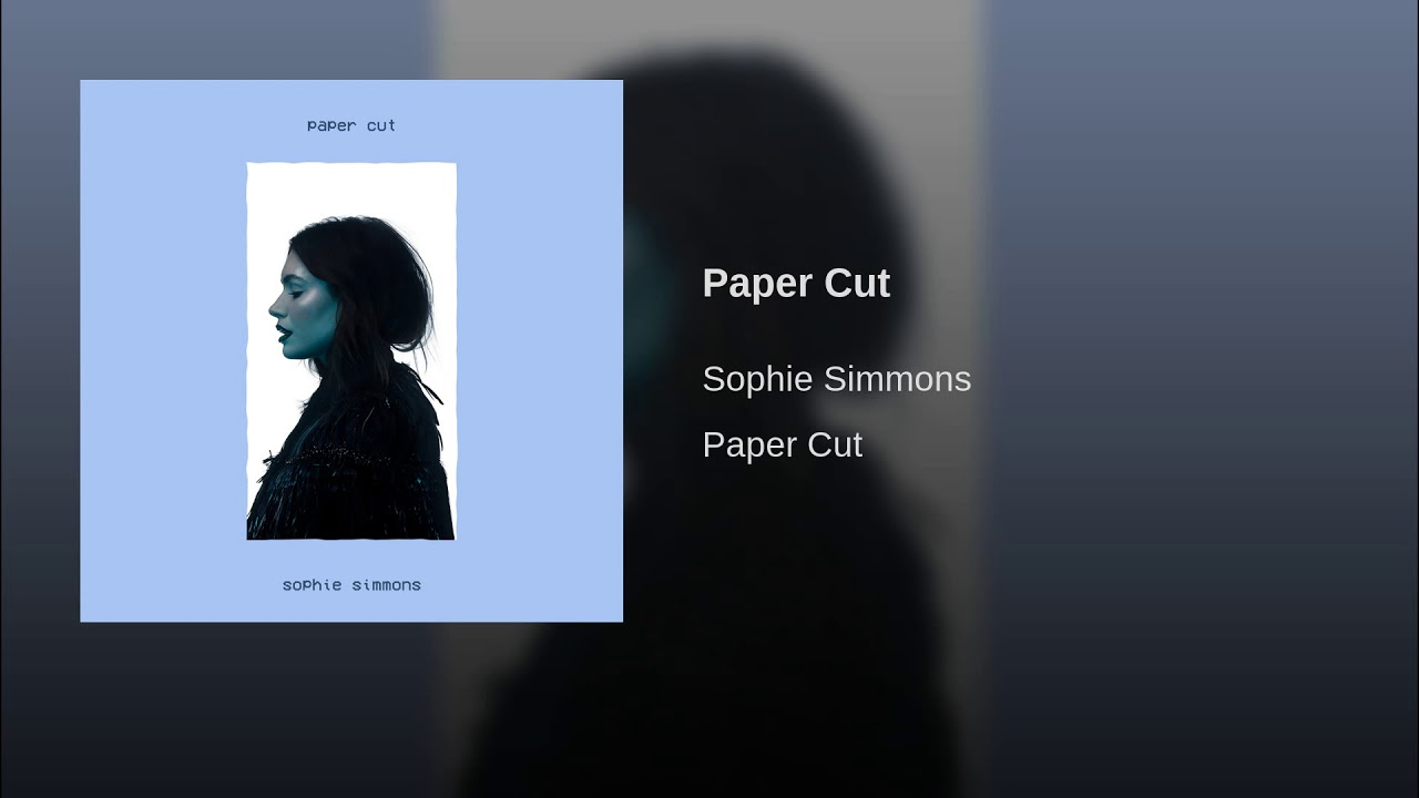 Listen: Sophie Simmons releases sharp new single 'Paper Cut'