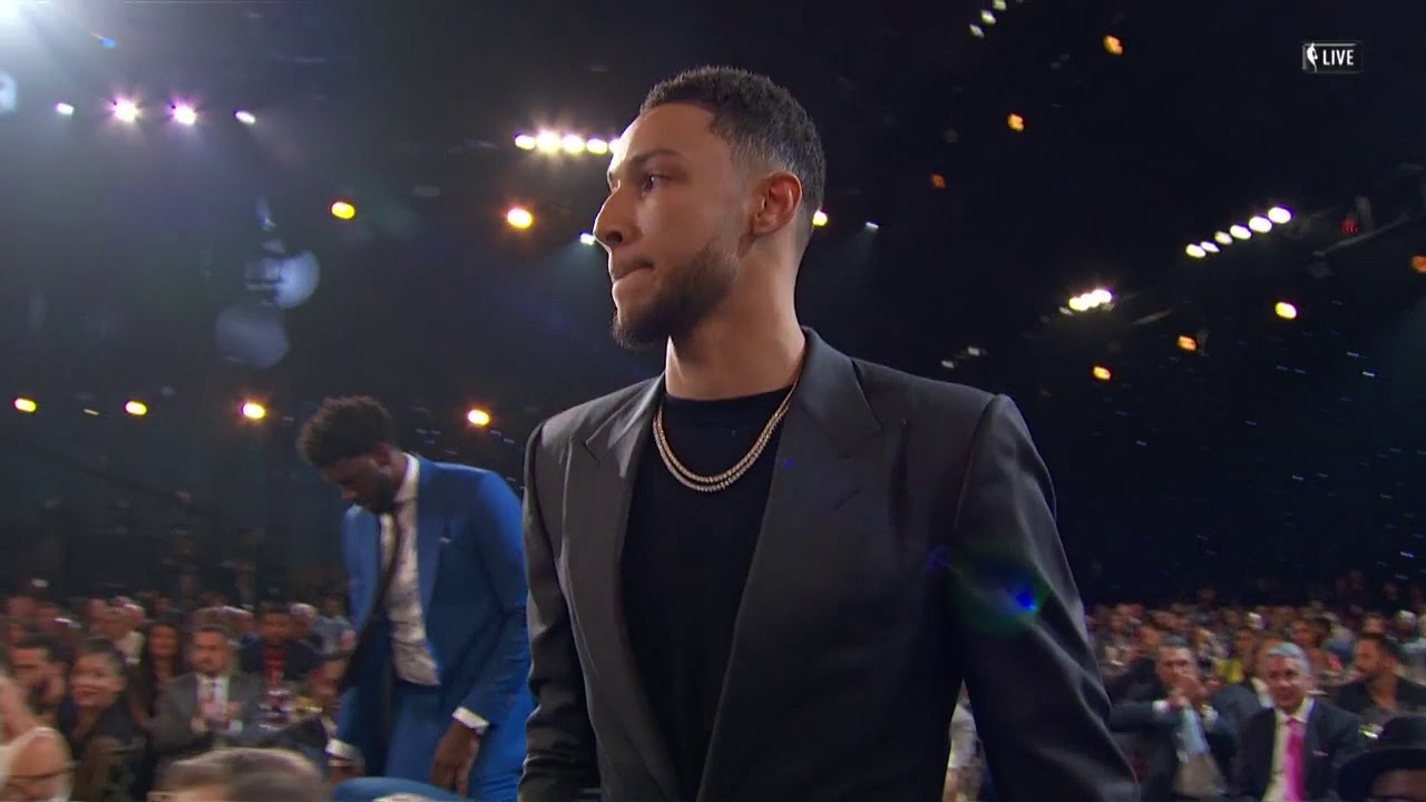 Ben Simmons wins NBA Rookie of the Year Award - AXS 07be9c90e