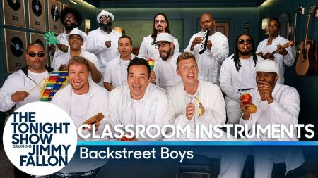 Watch: Jimmy Fallon, Backstreet Boys, & The Roots perform 'I Want It That Way'