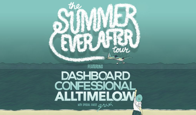 Dashboard Confessional & All Time Low tickets at Avila Beach Resort in Avila Beach