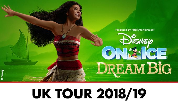 Disney On Ice presents Dream Big tickets at Braehead Arena, Glasgow