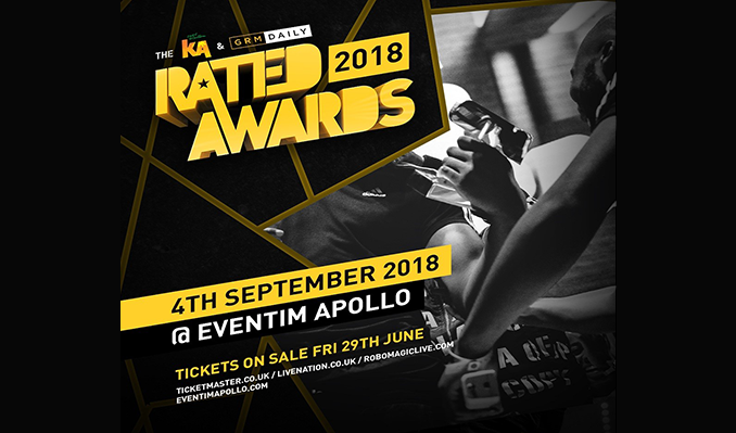 KA & GRM Daily Rated Awards tickets at Eventim Apollo in London