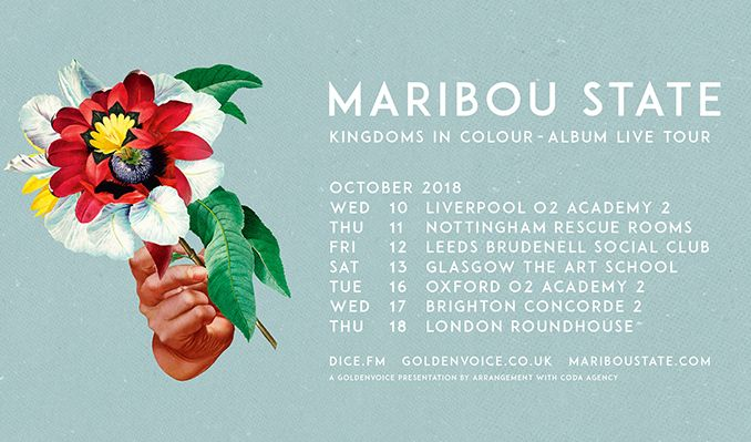 Maribou State tickets at Brudenell Social Club in Leeds