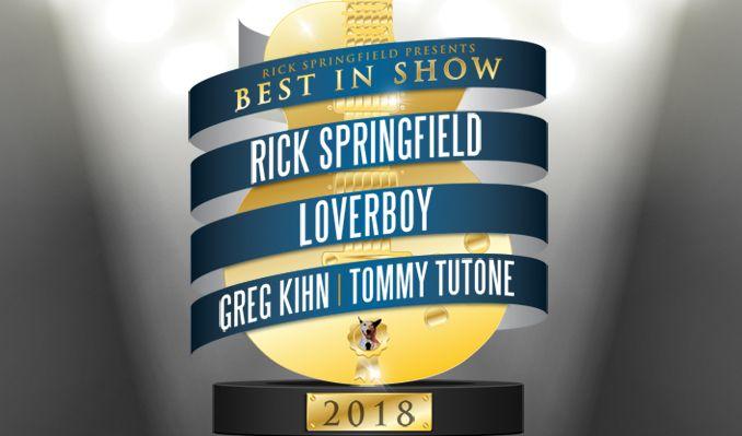 Rick Springfield Presents Best In Show tickets at St. Augustine Amphitheatre in St. Augustine