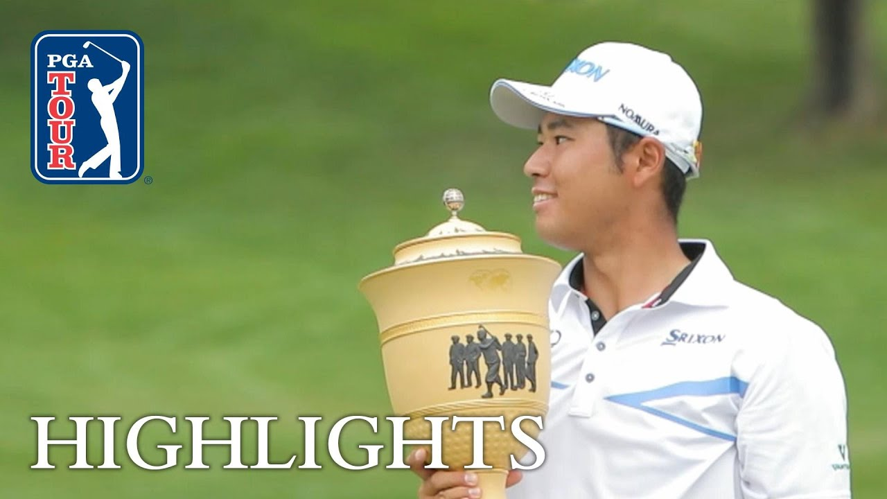 Matsuyama ties course record in winning 2017 WGC Bridgestone Invitational