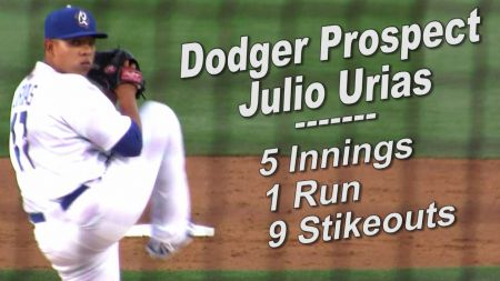 MLB Report: Dodgers to have Julio Urias bobblehead night on Sept. 26
