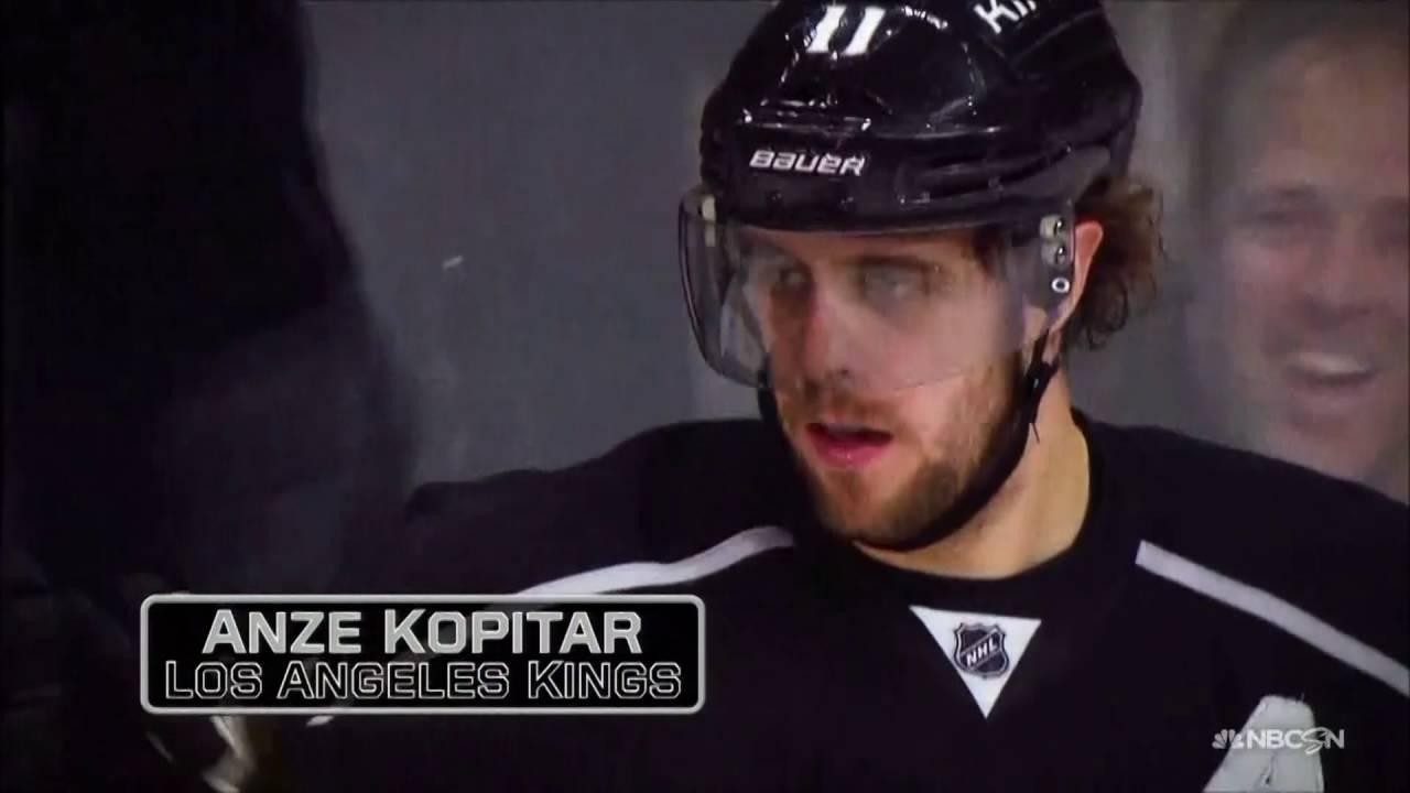 LA Kings player profile: C Anze Kopitar