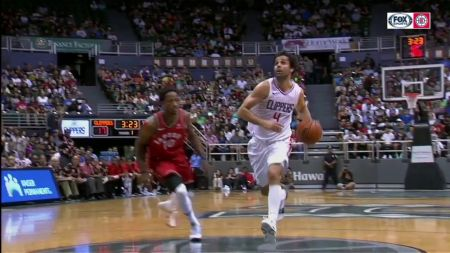 Milos Teodosic solidifying starting spot for LA Clippers
