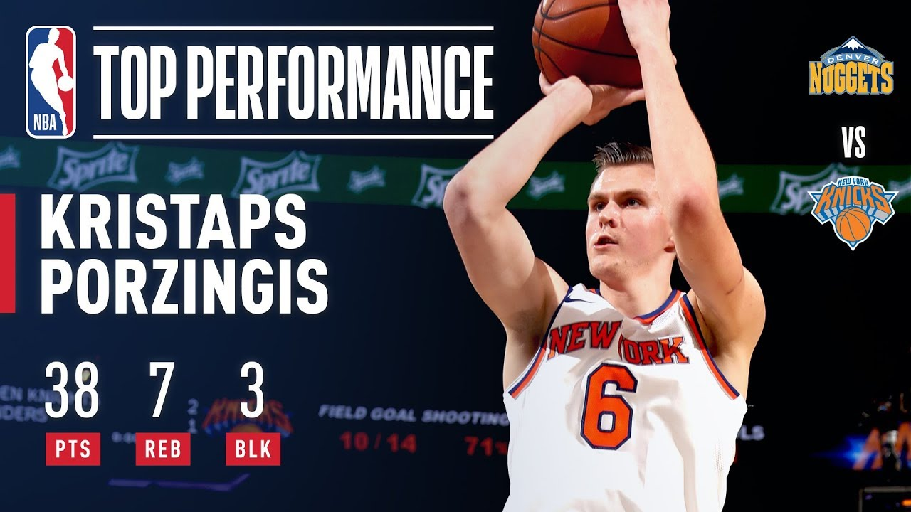 Kristaps Porzingis playing at MVP level for New York Knicks
