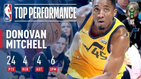 Donovan Mitchell gives Utah Jazz fans reason for optimism