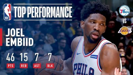 Joel Embiid receives 'Rising Star' distinction from Sports Illustrated