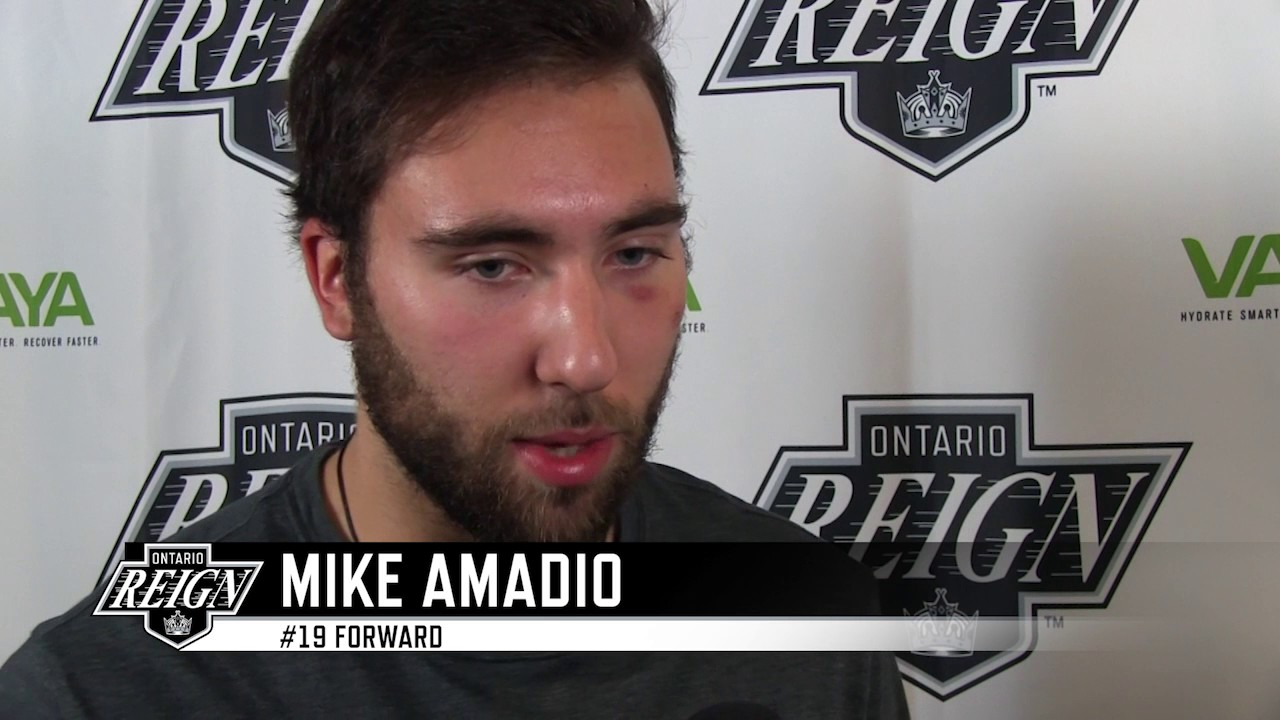 Mike Amadio named AHL Player of the Month