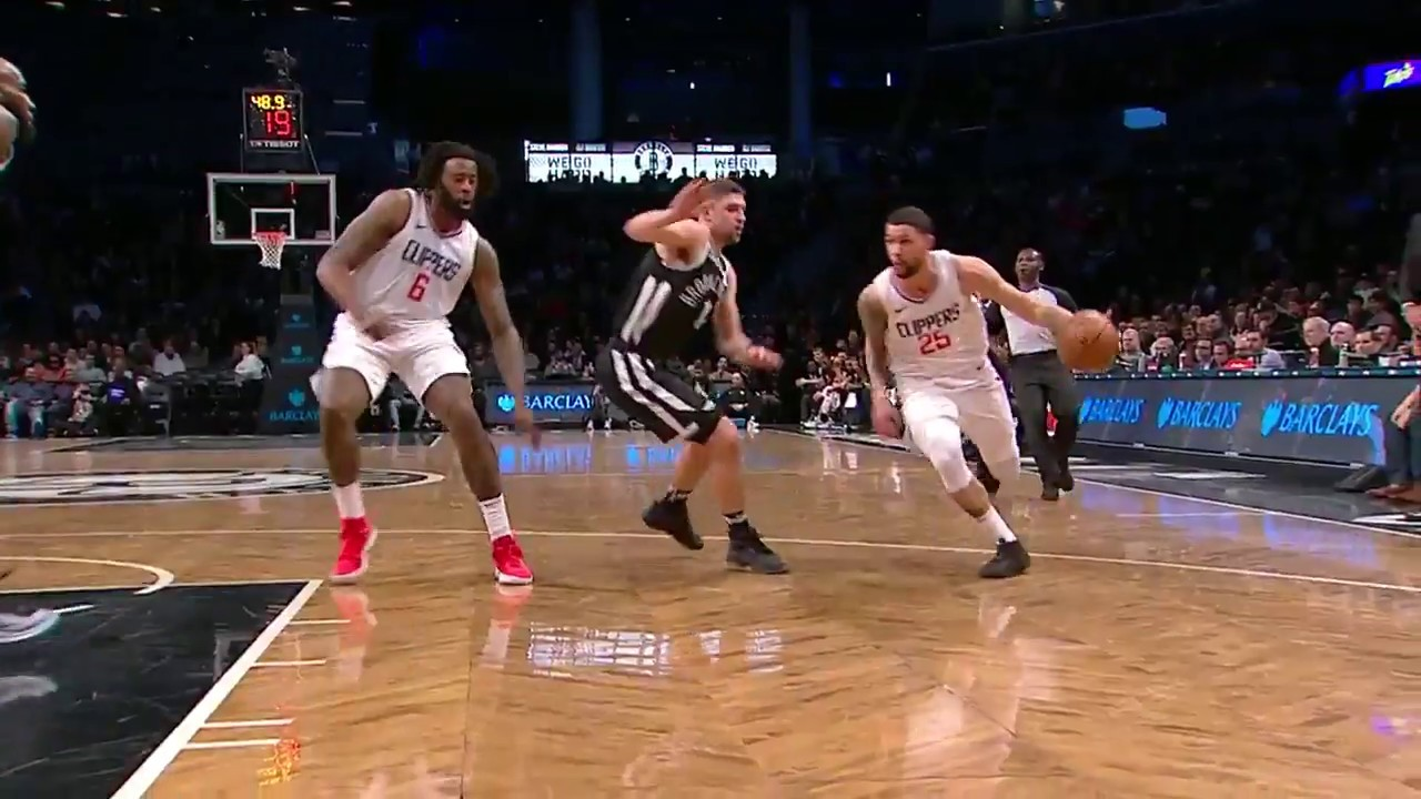 Avery Bradley getting comfortable with LA Clippers