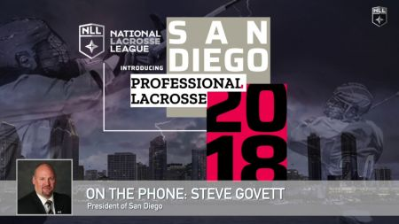Govett to manage Team Canada at 2018 World Lacrosse Championships in Israel