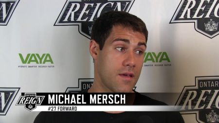 Michael Mersch now property of the Dallas Stars