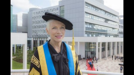 Annie Lennox named first female Chancellor of Scotland's Glasgow Caledonian University