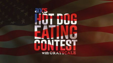 Watch Grayscale compete in AXS' first annual July 4th Hot Dog Eating Contest