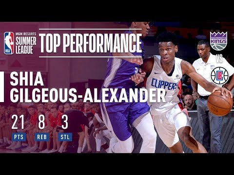 Shai Gilgeous-Alexander off to strong start in Summer League