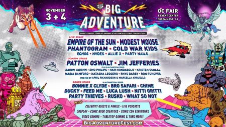 Alt 98.7 Presents Big Adventure -- a brand-new music, comedy, cosplay, gaming, sci-fi, fantasy, and comic con festival, coming to the OC Fai