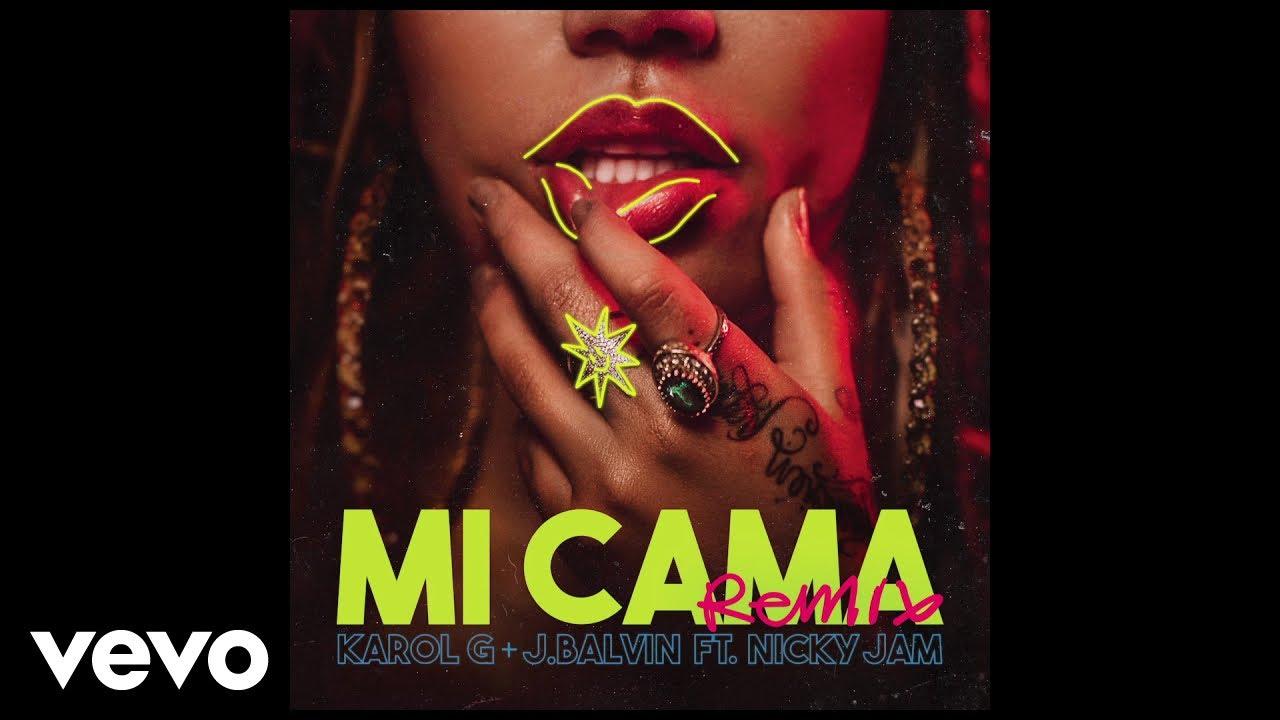 Listen: Karol G shares 'Mi Cama' with J Balvin & Nicky Jam on remix