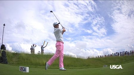 Justin Thomas sets record for best round in U.S. Open golf history