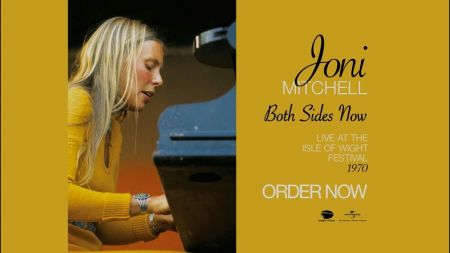 Watch: Joni Mitchell debuts trailer for 'Both Sides Now: Live at the Isle of Wight 1970'