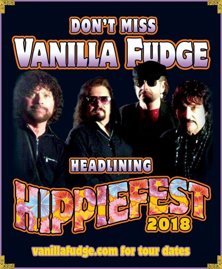 Vanilla Fudge headlines Hippiefest Tour 2018