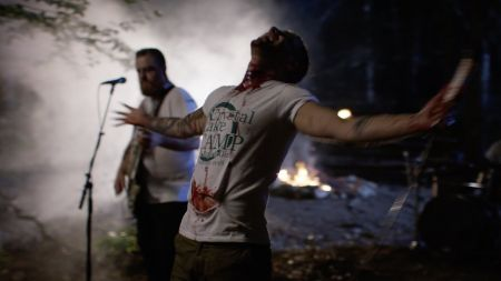 Watch Ice Nine Kills visit Camp Crystal Lake in 'Thank God It's Friday'