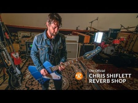 Foo Fighters guitarist Chris Shiflett announces sale of 20 guitars from his personal collection
