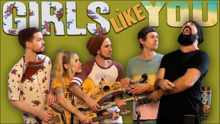 ICYMI: Watch Walk Off The Earth cover Maroon 5's 'Girls Like You'