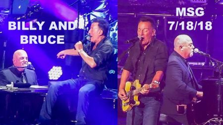 Watch: Billy Joel and Bruce Springsteen jam 'Tenth Avenue Freeze-Out' at 100th MSG show