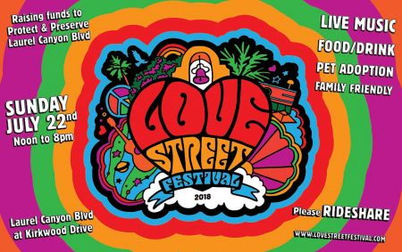 Love Street Festival returns to Laurel Canyon on July 22, honoring The Doors. The celebration marks the 50th anniversary of Waiting for the