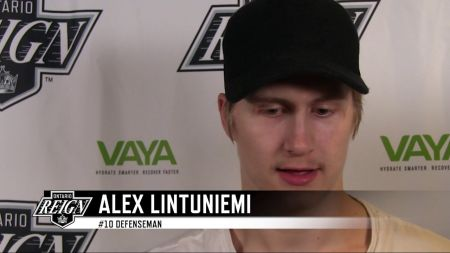 LA Kings re-sign defenseman Alex Lintuniemi to one year contract