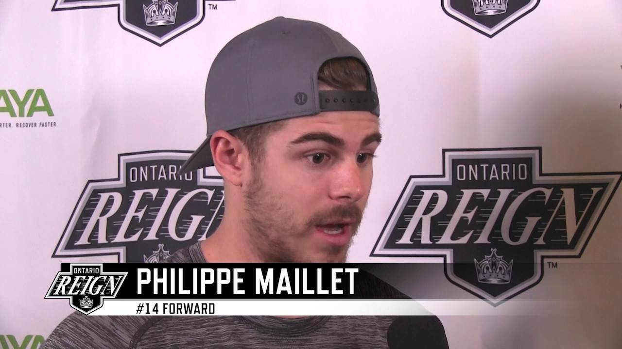 Ontario Reign sign Philippe Maillet to an AHL contract