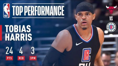 Tobias Harris anticipating big season with LA Clippers