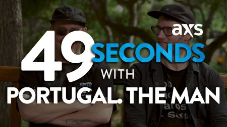 Watch: 49 seconds with Portugal. The Man