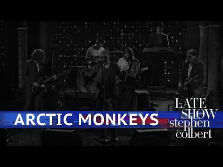 Watch: Alex Turner debuts new haircut as Arctic Monkeys perform 'The Ultracheese' on 'Colbert'