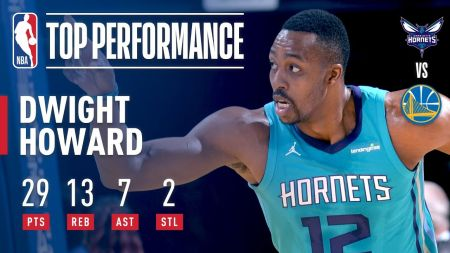 Dwight Howard looks for strong finish to career in Washington
