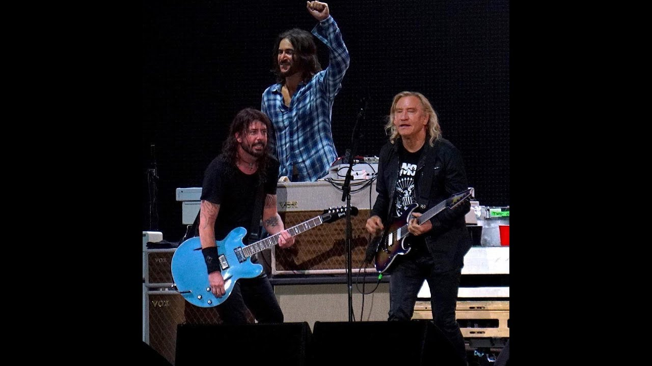 Watch: Foo Fighters joined by Joe Walsh for cover of 'Rocky Mountain Way'