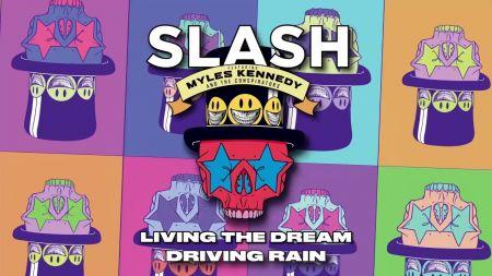 Listen: Slash releases new single 'Driving Rain' featuring Myles Kennedy & the Conspirators