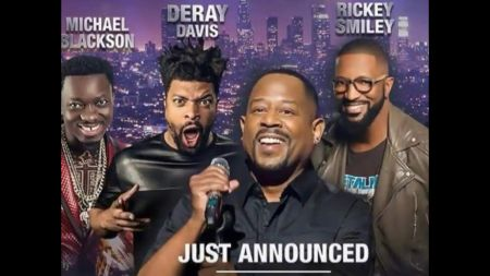 Martin Lawrence announces stacked lineup for LIT AF tour