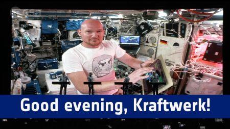 Watch: Kraftwerk perform with astronaut in space during set