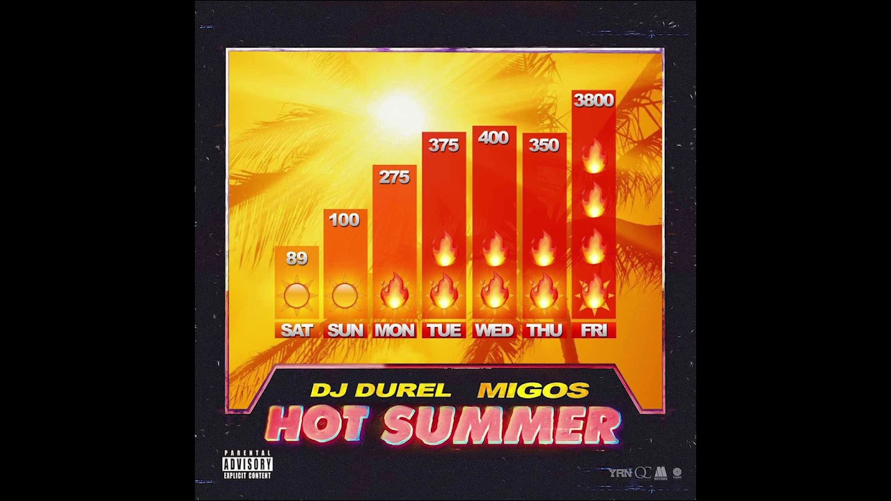 Migos and DJ Durel turn up the heat with new track 'Hot Summer': Listen