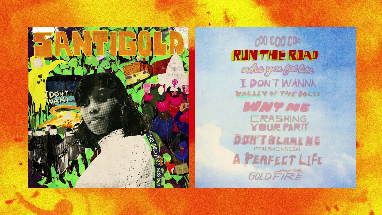 Santigold surprises fans with new dancehall album 'I Don't Want: The Gold Fire Sessions'