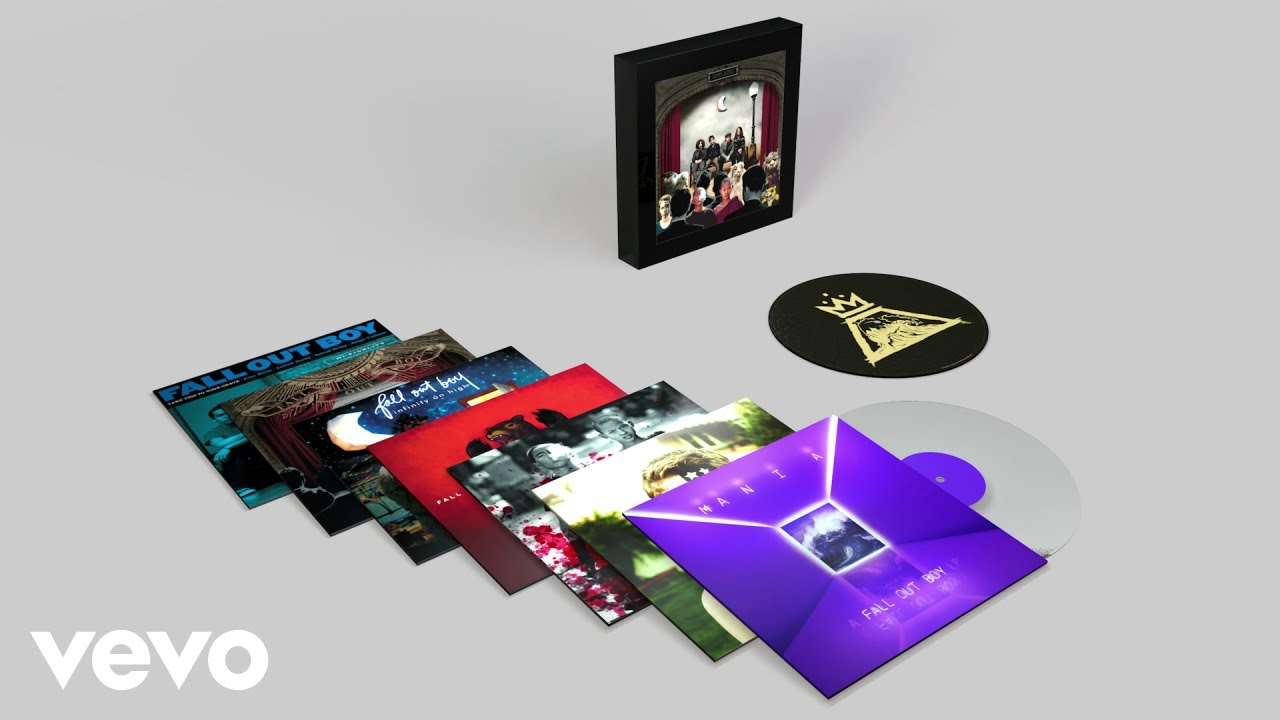Fall Out Boy releasing vinyl box set 'The Complete Studio